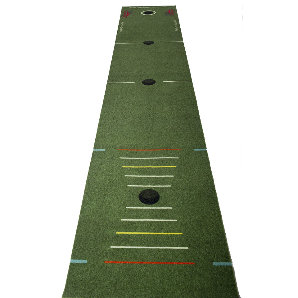 Purestrike Golf Pro Putting Mat With Practice Cup